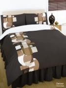 Denver Chocolate Complete Set Bedding King Duvet Cover