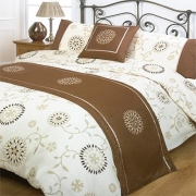 Titania Chocolate Bed In Bag Bedding King Duvet Cover Set