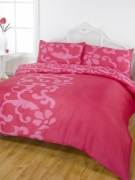 Chelsea Pink Half Set Bedding Double Duvet Cover