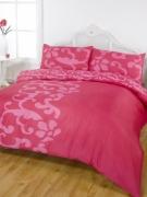 Chelsea Pink Half Set Bedding Super King Duvet Cover