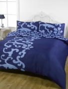 Chelsea Navy Half Set Bedding King Duvet Cover