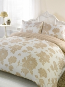 Peony Cream Half Set Bedding Super King Duvet Cover