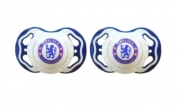 Chelsea Fc Football Soother Official Zero Month 0m+ Baby Care