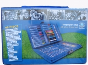 Everton 68pc Fc Football Travel Stationery Bag Official