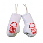 Nottingham Fc Football Car Mirror Boxing Gloves Official Decoration