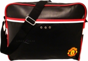 Manchester United Fc Leather Football Laptop Bag Official Computer Accessories