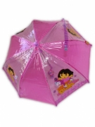 Dora School Rain Brolly Umbrella