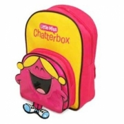 Little Miss Chatterbox School Bag Rucksack Backpack