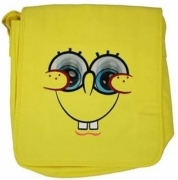 Spongebob Lenticular Eyes School Despatch Bag