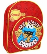 Sesame Street Me Wanted Cookies School Bag Rucksack Backpack