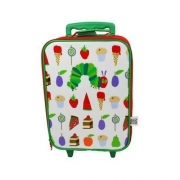 Hungry Caterpillar School Travel Trolley Roller Wheeled Bag