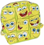 Spongebob Face School Bag Rucksack Backpack