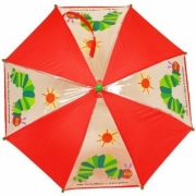 Very Hungry Caterpillar 'Eric Carle' School Rain Brolly Umbrella
