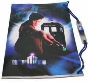 Dr Who 11th Doctor Tardis School Swim Bag