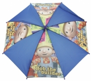 Bob The Builder 'on Next Job' School Rain Brolly Umbrella