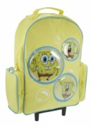 Spongebob Bubble School Travel Trolley Roller Wheeled Bag