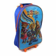 Zingzillas School Travel Trolley Roller Wheeled Bag