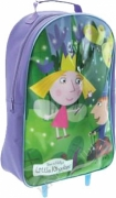 Ben and Hollys Little Kingdom School Travel Trolley Roller Wheeled Bag