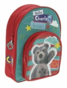 Little Charley Bear 'Hello' School Bag Rucksack Backpack