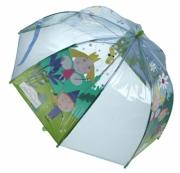 Ben & Holly 'Dome' School Rain Brolly Umbrella