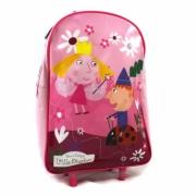 Ben & Holly Little Kingdom School Travel Trolley Roller Wheeled Bag
