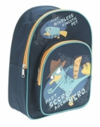 Phineas and Ferb 'Secret Agent' School Bag Rucksack Backpack