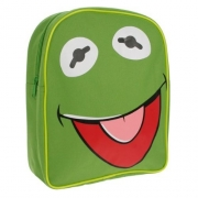 Disney The Muppets 'Kermit' Green School Bag Rucksack Backpack