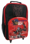 Transformers 'Autobots Roll Out' Pvc Front School Travel Trolley Roller Wheeled Bag