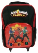 Power Ranger 'Samurai' School Travel Trolley Roller Wheeled Bag