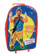 Something Special Mr Tumble School Travel Trolley Roller Wheeled Bag