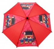 Fireman Sam 'Saving The Day' School Rain Brolly Umbrella