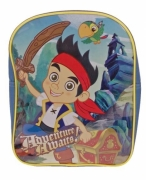 Disney Jake and The Neverland Pirates Pvc Front School Bag Rucksack Backpack