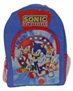 Sonic The Hedgehog Sports School Bag Rucksack Backpack