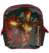 Iron Man 3 Pvc Front School Bag Rucksack Backpack