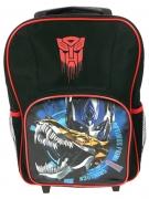Transformers Optimus Prime School Travel Trolley Roller Wheeled Bag