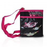 Monster High 'Black Crossover' School Shoulder Bag