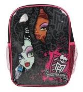 Monster High Backpack with Mesh Pockets School Bag Rucksack