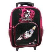 Monster High Premium School Travel Trolley Roller Wheeled Bag
