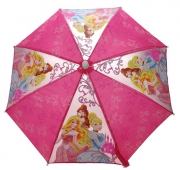 Disney Princess 'Glitter' School Rain Brolly Umbrella