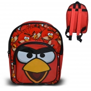 Angry Birds Arch Pvc Front School Bag Rucksack Backpack