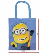Despicable Minions Tote Canvas School Shopper