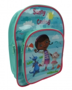 Disney Doc Mcstuffins 'Sunny Days & Caring Ways' School Bag Rucksack Backpack