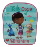 Disney Doc Mcstuffins Daily Dose of Sunshine School Bag Rucksack Backpack