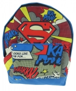 Superman Krakk Thwakk School Bag Rucksack Backpack