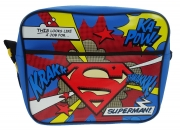 Superman Courier School Shoulder Bag