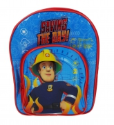 Fireman Sam 'Saving The Day' Arch School Bag Rucksack Backpack