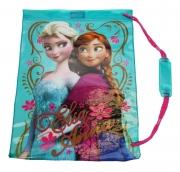 Disney Frozen Elsa & Anna 'Nordic Floral' School Swim Bag