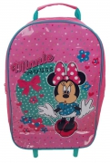 Disney Minnie Mouse 'Spots To Dots' School Travel Trolley Roller Wheeled Bag
