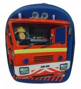 Fireman Sam 'Fire Engine' Eva 3d School Bag Rucksack Backpack