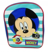 Disney Mickey Mouse 'Say Cheese' Pvc Front School Bag Rucksack Backpack